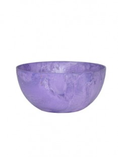 Artstone Fiona bowl grape 25   12