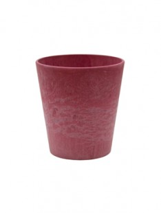 Artstone Claire pot red 10   11