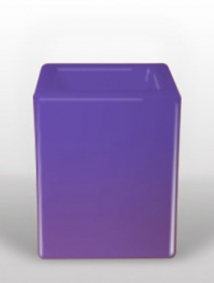 Bloom Square Violett  40 40 50