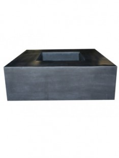 Fiberstone Jumbo seating black  140 140 47,5