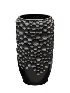 Pot & vaas Soap vase black matt    48
