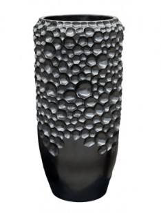 Pot & vaas Soap vase black pearl    58