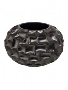 Pot & vaas Shell shapes vase black pearl 51   33