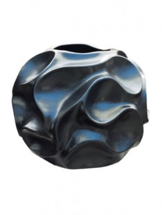 Pot & vaas Wave vase grey pearl 40   35