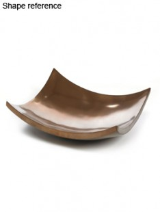 Plants First Choice Element bronze bowl square  61 61 20