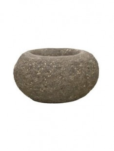 Polystone Rock Findling brown  40 32 22