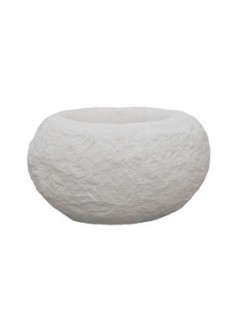 Polystone Rock Findling white  40 32 22