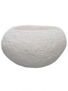 Polystone Rock Findling white  80 67 48