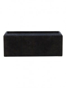 Polystone Rectangle Smoke  44 17 17