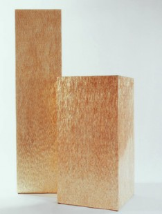 Indoor Pottery Column byzanz gold  40 40 160