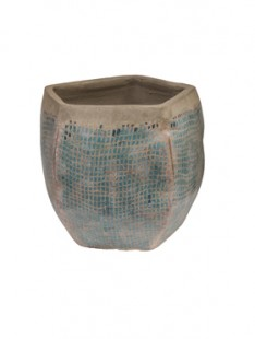 Indoor Pottery Pot jolanda blue (colour of abira)    20