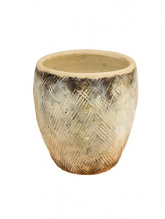 Indoor Pottery Pot jihan ivory (colour of jihan)    16
