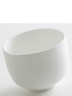 Indoor Pottery Bowl tcha couple white 7,5   5,5