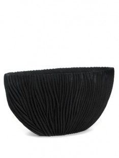 River Vase oval black  100 40 50